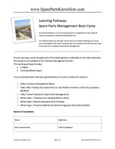 Learning Pathway Boot Camp