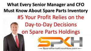 Spare Parts Management Decisions