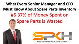 Money Spent on Spare Parts