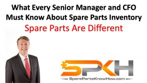 Spare Parts Inventory Characteristics
