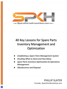 Spare Parts Inventory Management and Optimization